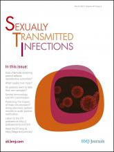 Sexually Transmitted Infections: 87 (2)