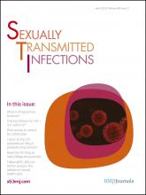 Sexually Transmitted Infections: 88 (3)