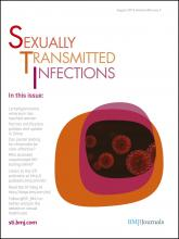 Sexually Transmitted Infections: 88 (5)