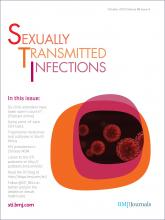 Sexually Transmitted Infections: 88 (6)