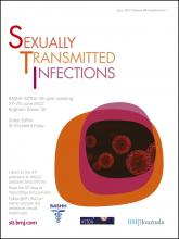 Sexually Transmitted Infections: 88 (Suppl 1)