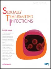 Sexually Transmitted Infections: 89 (5)