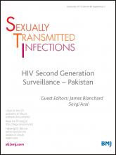 Sexually Transmitted Infections: 89 (Suppl 2)