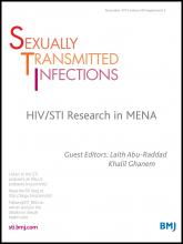 Sexually Transmitted Infections: 89 (Suppl 3)
